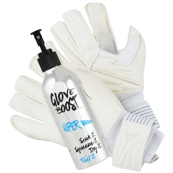 Super-wash-cleaner for glove-boost